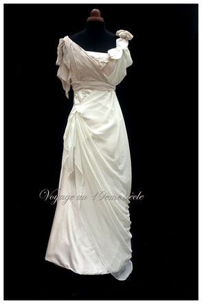 Location robe de Bal Belle epoque