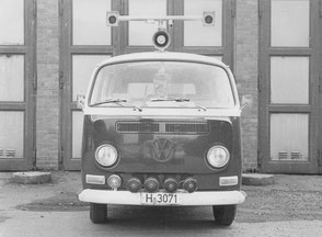 erster Stereomesswagen zur Unfallaufnahme