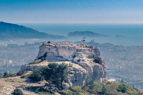 Ballade sur le massif de l'étoile à Marseille