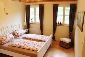 Unsere Ferienwohnung in Gengenbach bietet bequeme Betten in denen Sie sich erholen können