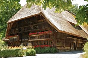 Der Vogtsbauernhof – ideales Ausflugsziel für die ganze Familie – einfach erreichbar von unserer Ferienwohnung
