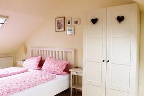 Die Zimmer der Ferienwohnung in Gengenbach sind liebevoll eingerichtet