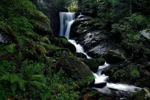 Die Triberger Wasserfälle – ein beliebtes Ausflugziel für Besucher unserer Ferienwohnung in Gengenbach