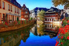 Nur eine halbe Stunde von der Ferienwohnung Gengenbach entfernt. Die französische Stadt Strasbourg