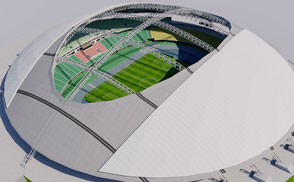 Oita Dome Stadium - Japan stadium 3d olympic rugby world cup 2019 asia arena dome 3d model baseball usa america canada stadium stadion estadio baseball mets 3d mets mascot astros baseball mls city arena stadion estadio ballpark america usa vr ar