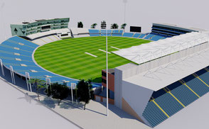 Headingley Cricket Ground - Leeds 3D model national england cricket ground city athletic sport games stadion estadio stade football soccer london uk united kingdom ar vr world cup league championship competition event exterior