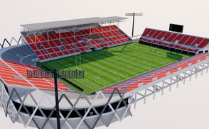 Hanazono Rugby Stadium - Japan  stadium 3d olympic rugby world cup 2019 asia arena dome 3d model baseball usa america canada stadium stadion estadio rugby world cup 2019 city arena stadion estadio osaka  usa vr ar