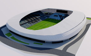 Allianz Field - Minnesota United nfl mlb mls football soccer 3d stadium america usa national superbowl soccer city arena 3dmodel ncaa