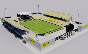 Mapfre Stadium - Columbus Crew nfl mlb mls football soccer 3d stadium america usa national national team  soccer city arena 3dmodel ncaa