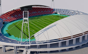 Kumamoto Prefectural Sports Park - Japan  stadium 3d olympic rugby world cup 2019 asia arena dome 3d model baseball usa america canada stadium stadion estadio rugby world cup 2019 city arena stadion estadio osaka  usa vr ar