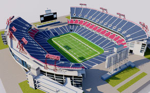 Nissan Stadium - Nashville NFL stadium arena stadion estadio national football soccer futbol americano usa united states nashville tennessee