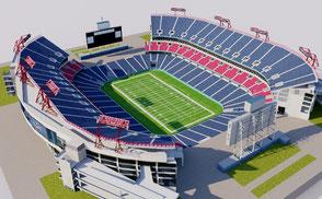 Nissan Stadium - Nashville NFL stadium arena stadion estadio national football soccer futbol americano usa united states nashville tennessee