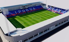 Estadio Ipurua - Eibar la liga santander spain real sociedad guipuzcoa euskadi futbol football soccer