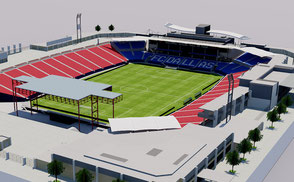Toyota Stadium - FC Dallas Texas USA 3D model nfl mlb mls football soccer  america usa national  city arena 3dmodel ncaa mls soccer  mls league competition cup arena venue hall team team rugby concert stage event sport