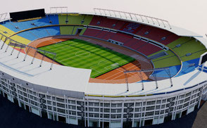 Worker's Stadium 3d model render ar vr virtual ready augmented reality china beijing 北京 Gongti or Gong Ti 工人体育场
