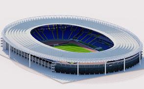 Stadio Olimpico - Rome Roma football soccer euro 2020 3d model 3d stadium vr ar virtual budapest hungary sport event concert eurocup league champions uefa fifa Lazio AS Roma 3d stadium