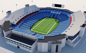 New Era Field - New York nfl buffalo bills mls stadium arena nyc ny new york sports 3d render model estadio rugby futbol americano usa