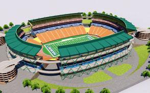 Aloha Stadium - Hawaii hawai'i university stadium vr ar football soccer national america