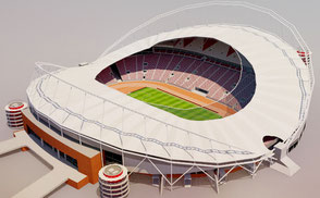 Khalifa International Stadium - Doha football 202 qatar world cup stadium