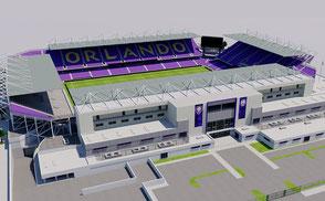 Orlando City Stadium - Orlando Exploria Stadium  nfl internacional mls football america usa national mls florida soccer united league  soccer city arena women 3dmodel ncaa
