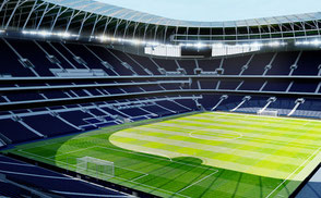 New White Hart Lane - Tottenham Hotspur London low-poly 3d model ready for Virtual Reality (VR), Augmented Reality (AR), games and other real-time apps.