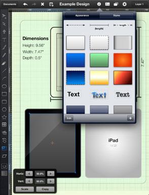 iDraw - редактор векторной графики
