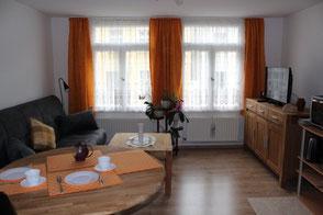 Bild: Ferienwohnung in Bad Doberan, Wohnzimmer / Esszimmer, www.mollisland.de