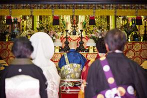 仏前結婚式の画像