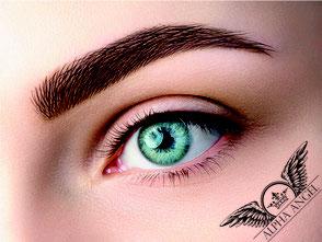 Permanent Make-Up Berlin - Augenbrauen mit feinster 3 D Härchenzeichnung