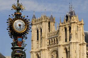 Visiter la Cathédrale Notre-Dame d'Amiens - à 40 mn du Jardin de Digeon