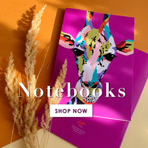 colorful notebooks stationery