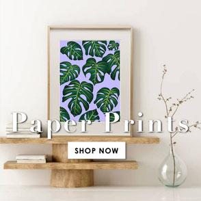 affordable colorful art prints