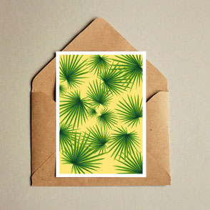 palm leaf illustration
