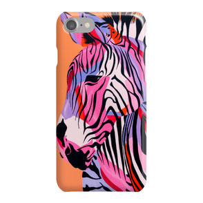 colorful giraffe iphone case