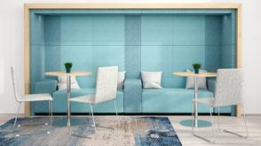 Loungemöbel - Besprechungsecke & Sitzbank für Küche und Meetings