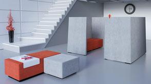 Raum In Raum Konzept - Besprechungsecke