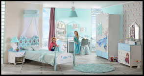 othropedic mattress for childrens bed, part of sleeping room furniture for girls room