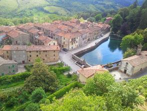 Santa Fiora, Monte Amiata, Toscana, Italia. Itinerari di vino. Blog Etesiaca