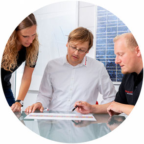 Wir unterstützen Handwerker und Solarteure