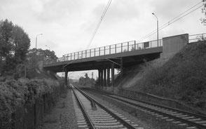 B 181 Merseburger Brücke in Leipzig