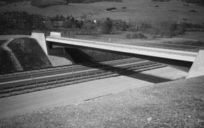 BAB A71 Bw 84, Bw 85Ü1 und Bw 87 bei Ellingshausen