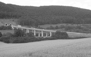 Talbrücken BAB A38, A71 und A73, Thüringen