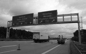 Verkehrszeichenbrücken BAB A10 und A13, Brandenburg