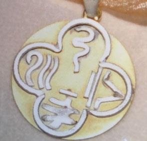 Symbole der vier Elemente