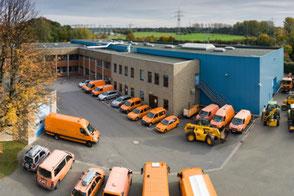 Foto der LINEG-Werkstatt in Moers-Repelen