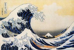 Die Welle (Hokusai)
