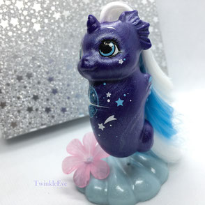 #187 Baby Sea Pony - Morning Star [Fancy Swirl Series] (10-2018)
