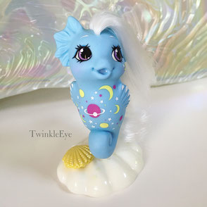 #185 Baby Sea Pony Nightglider [Twice as Fancy Series] (07-2018)