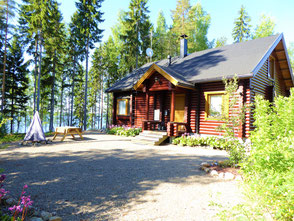 Ferienhaus am See Finnland