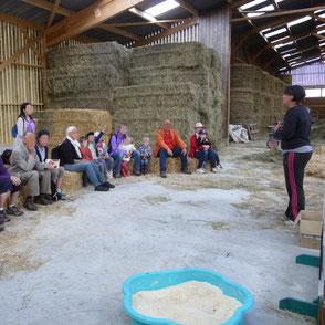 Visites guidées d'exploitations agricoles groupe Pays de L'Arbresle